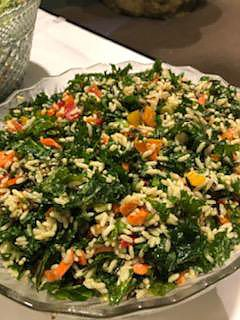 Kale & Wild Rice Salad