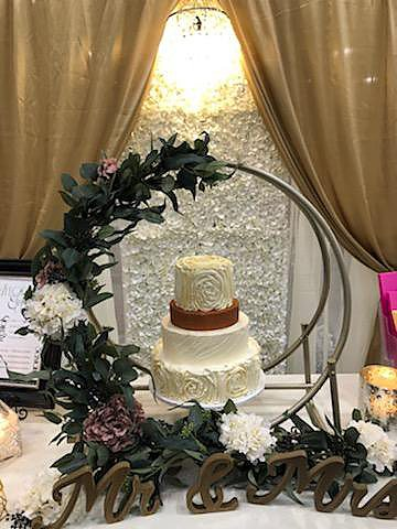 Bridal show Dubuque Display
