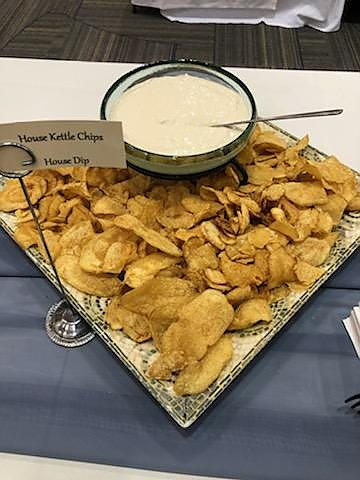 Kettle Chips and Knepper Dip