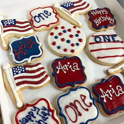 Cookies - Americana cutout