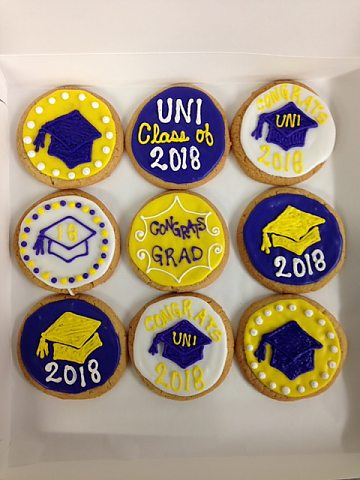 cookies - UNI graduation