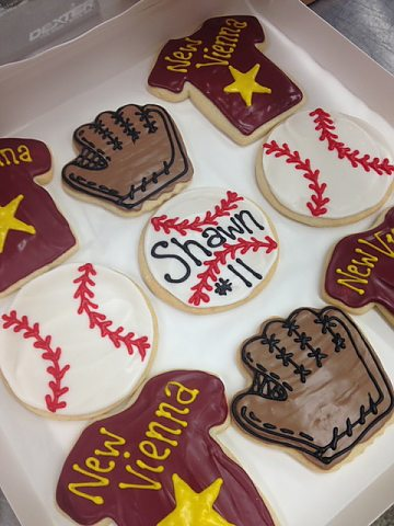 cookies - baseball cutouts