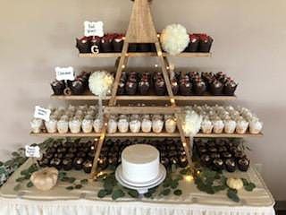 Cupcakes Ladder Display