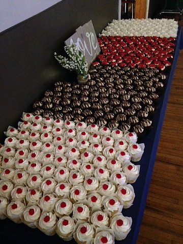 Cupcakes Table Display