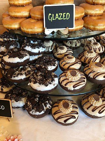 Glazed Donuts & Oreo Donuts