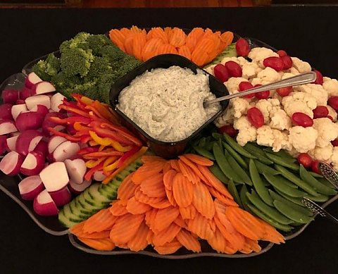 Large Vegetable Platter