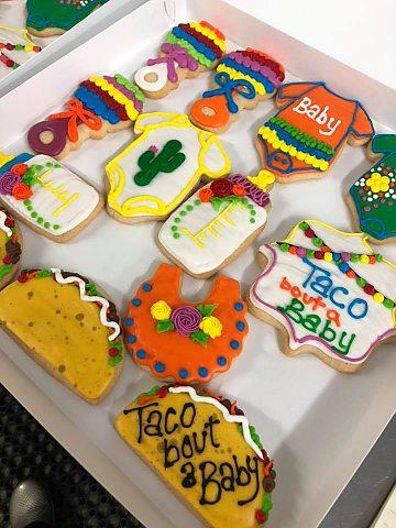 Taco Baby Cookies